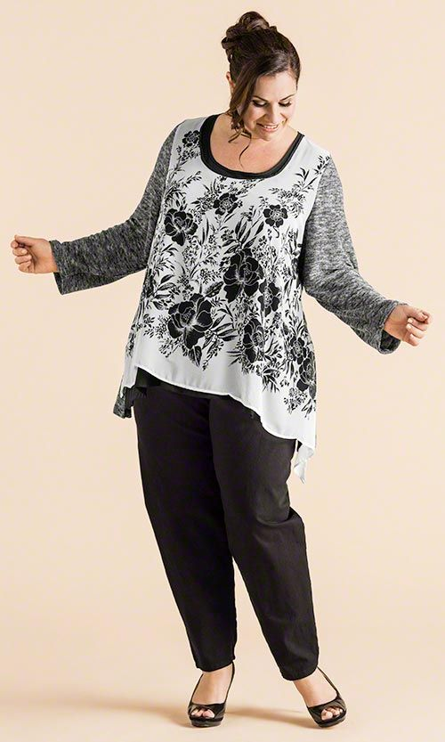 Charming Tunic / MiB Plus Size Fashion for Women / Summer Fashion http://www.makingitbig.com/product/5280