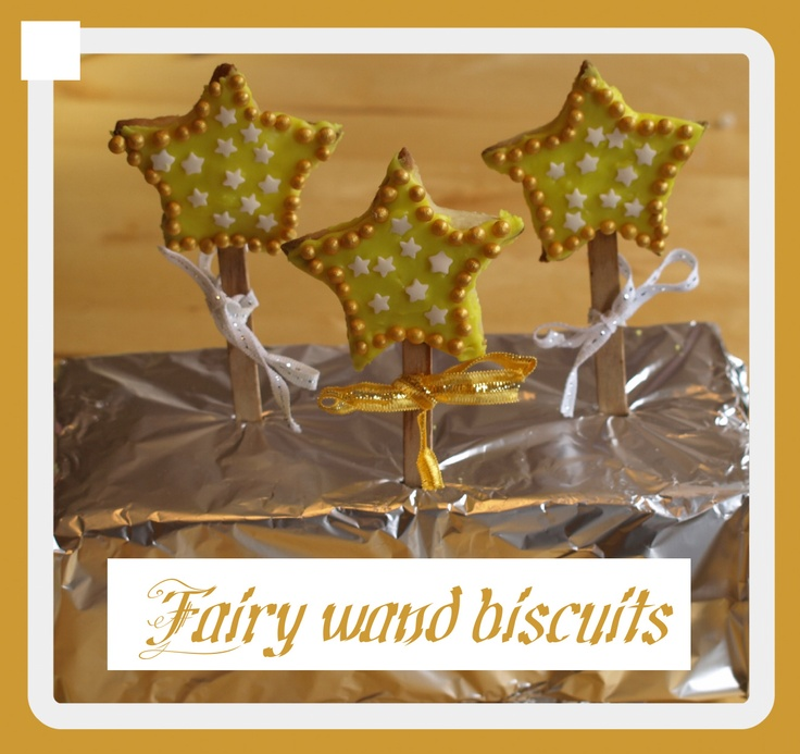 Fairy Wand biscuit (usa=COOKIES;)  recipe | Here Come the Girls
