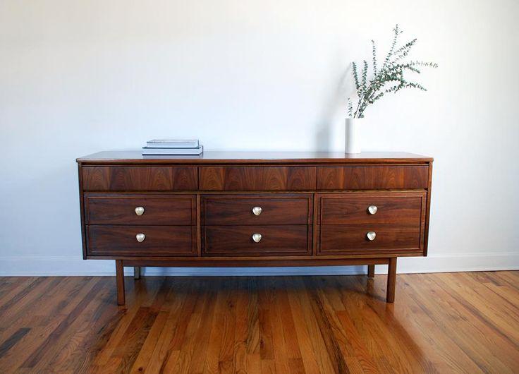 Dixie Dresser, MCM, Mid Century Modern Dresser, Vintage
