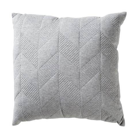 Quilted Geo Cushion Grey Home & Co