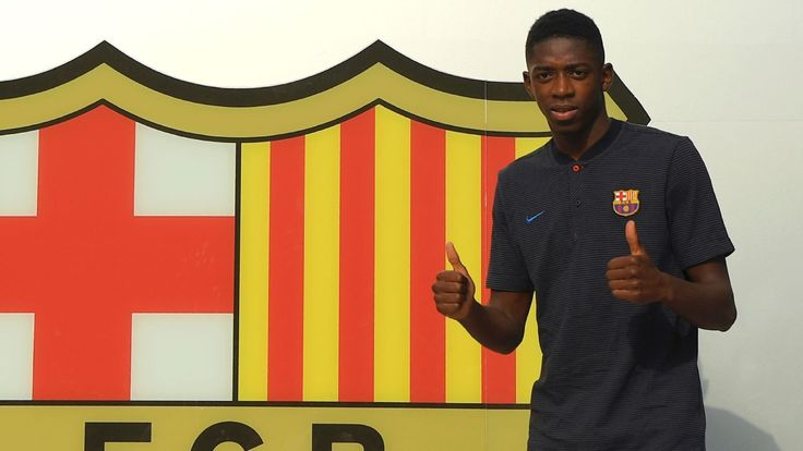 Barcelona's Ousmane Dembele learning Spanish by watching 'Narcos'