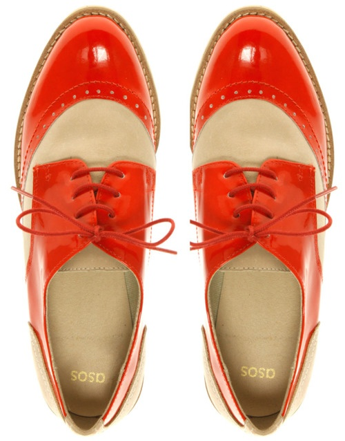 Orange Wingtips!  Way coooool