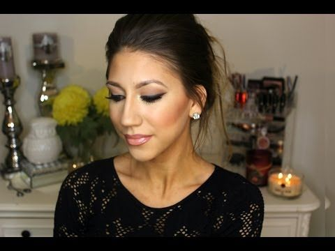 Classy Wedding Guest Makeup Tutorial ! - YouTube