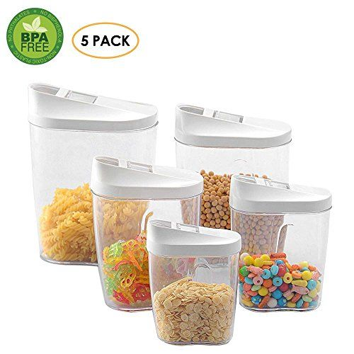 ensemble de recipients de rangement pour aliments hermetiques pawaca recipients de rangement de cuisine pour aliments