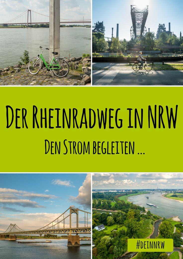Der Rheinradweg in Deinem NRW führt durch romantische Landschaften und rheinische Metropolen. Such Dir eine Etappe aus, lerne ihre Highlights und Sehenswürdigkeiten kennen und dann ab aufs Rad - immer den Strom begleiten. #deinnrw © Tourismus NRW e.V., Dominik Ketz