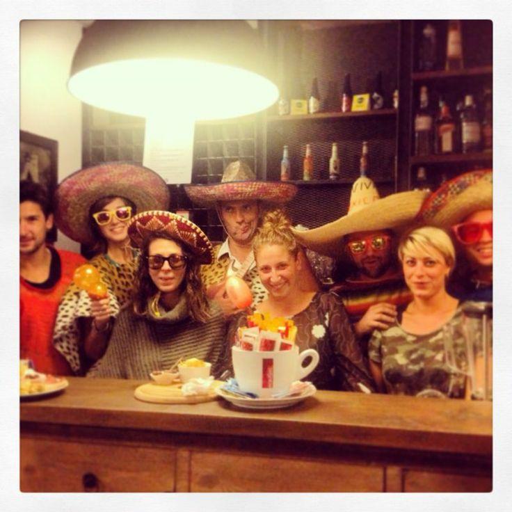 I migliori clienti di Soul Kitchen, ogni giovedì un aperitivo in maschera... :D :D