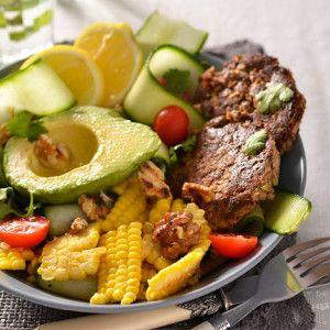 Fishcake Salad #Salad #Winter #Recipe #SouthAfrica