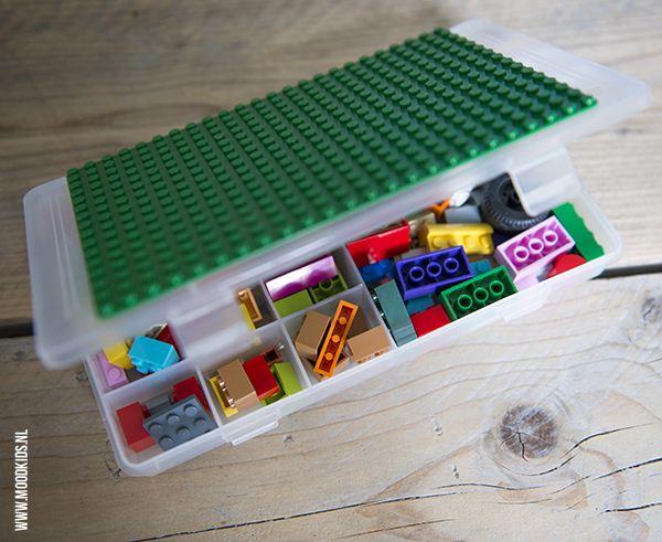 Ben je wel klaar met de iPad op de achterbank? Verzin dan leuke activiteiten voor op de achterbank. Bijvoorbeeld met deze LEGO vakantie tips. #auto #vakantie