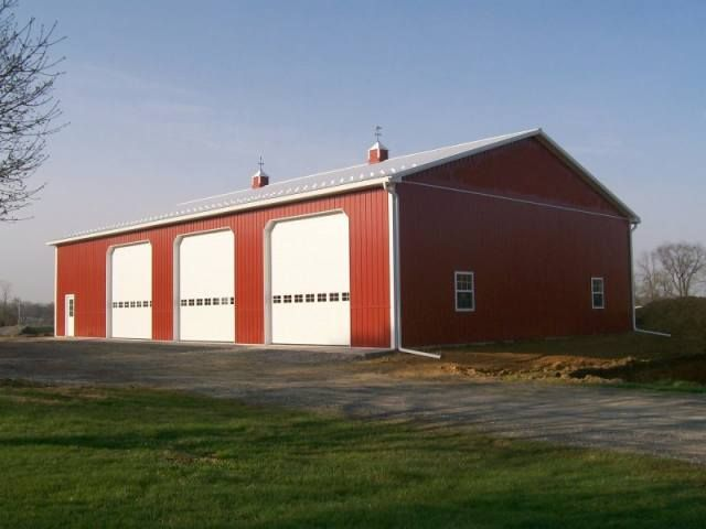 40 X 80 X 16 Post Frame Garage Exceptional 80 X 120 Pole Barn 14 Pole Barn Garage Barn