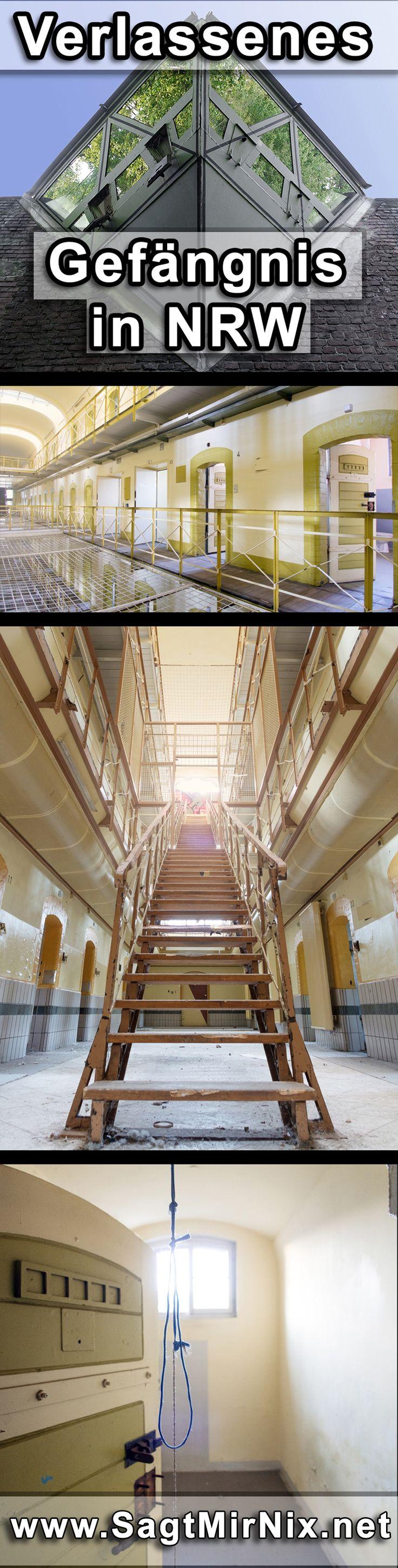 Das verlassene Gefängnis in NRW, ein spannender, aber beklemmender Lost Place. An den Wänden fanden sich sogar noch Kritzeleien der Häftlinge. Heute steht die JVA leer, ein von Wärtern und Gefangenen verlassener Ort.