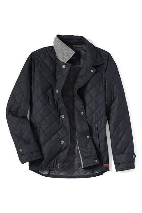 Мужская стеганая куртка Lands'end – Shopping TEMA