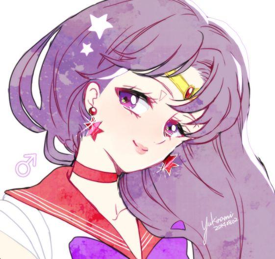 Sailor Mars セーラームーン by 雪なみ on pixiv