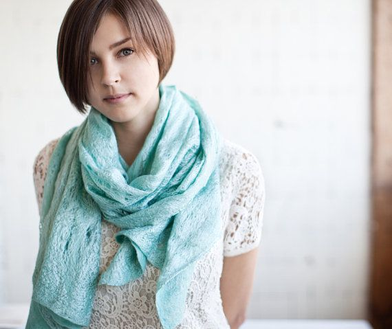 Hey, I found this really awesome Etsy listing at https://www.etsy.com/listing/158278508/mint-scarf-cobweb-shawl-scarf-for-all