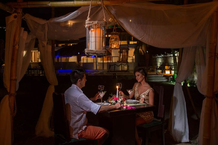 Romantic Dinner @ Avista perfect for engagements.