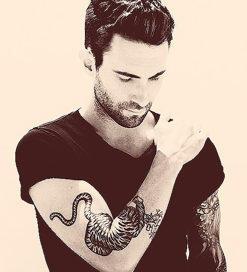 Adam Levine Tiger Pictures to Pin on Pinterest - TattoosKid