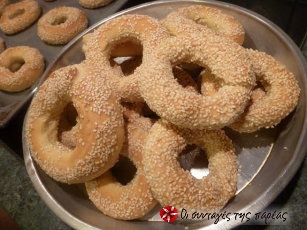 Simitia #cooklikegreeks #breadrings #koulouria