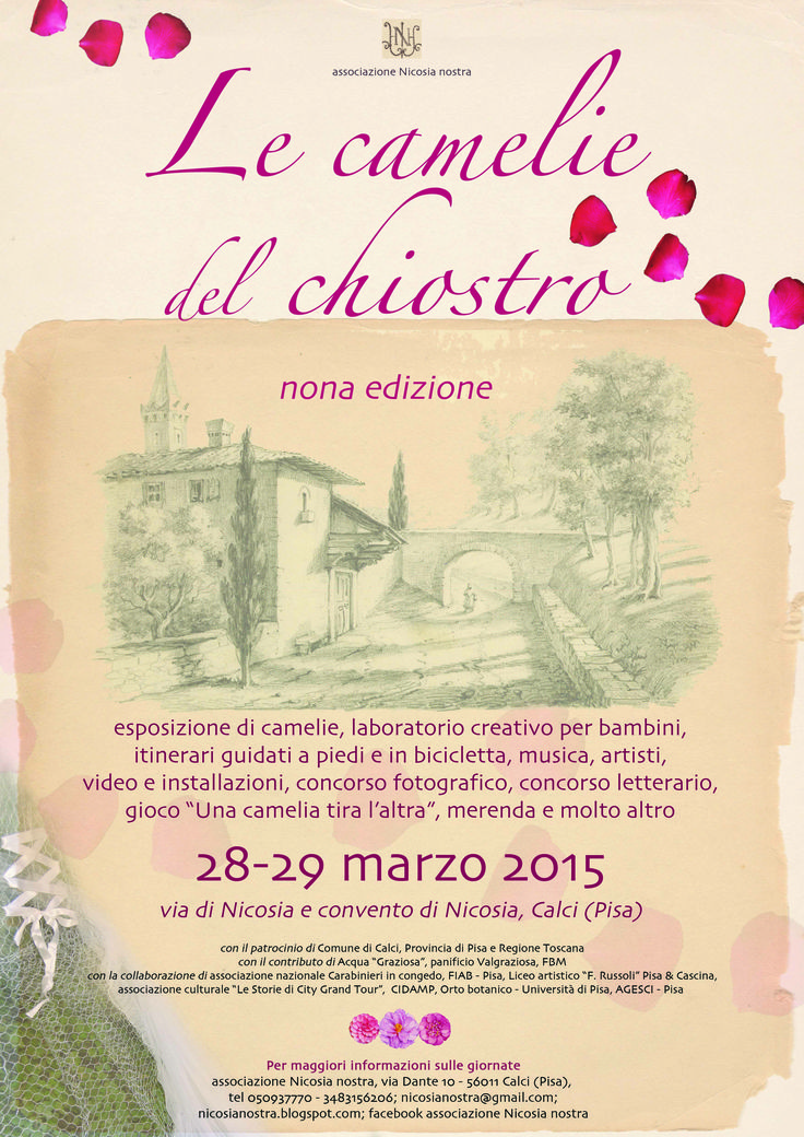 Le Camelie nel Chiostro 28-29 Marzo - Turismo - Walking in the City