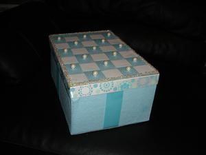 DIY Card Box Wedding For A Tiffany Blue