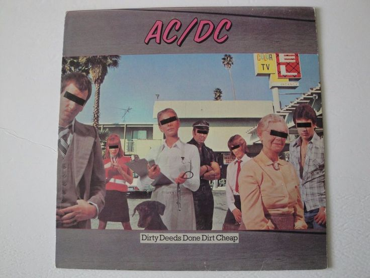 AC/DC DIRTY DEEDS DONE DIRT CHEAP VINYL LP 1976 ATLANTIC RECORDS SD 16033 STEREO #BritpopGarageRockHardRockRocknRoll