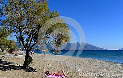 Samos greece island in its blue and warm waters rushing white and clean gravel and sand beach The green and lush Samos island is located in the northern part of the Aegean Sea, just a few meters from the coast of Turkey, and is famous for its wines such as white muscat, sweet and unique in its typology. Samos is the birthplace of many ancient philosophers and mathematicians such as Epicurus, Aristarchus and Pythagoras. It is a lovely island and all to be discovered thanks to its rich…