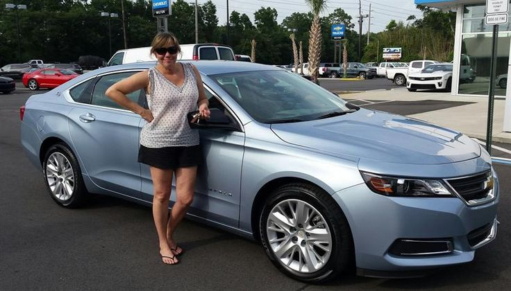 Carla's new 2014 CHEVROLET IMPALA! Congratulations and best wishes from Lou Sobh's Milton Chevrolet and MIKE NOELL.