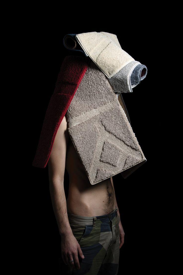 MASK - CARPETS The sample book, Un Sedicesimo by Mathery Studio for Corraini Edizioni
