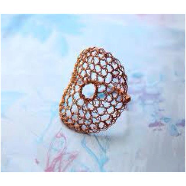 Crocheting Rings : Crochet ring Crochet Pinterest