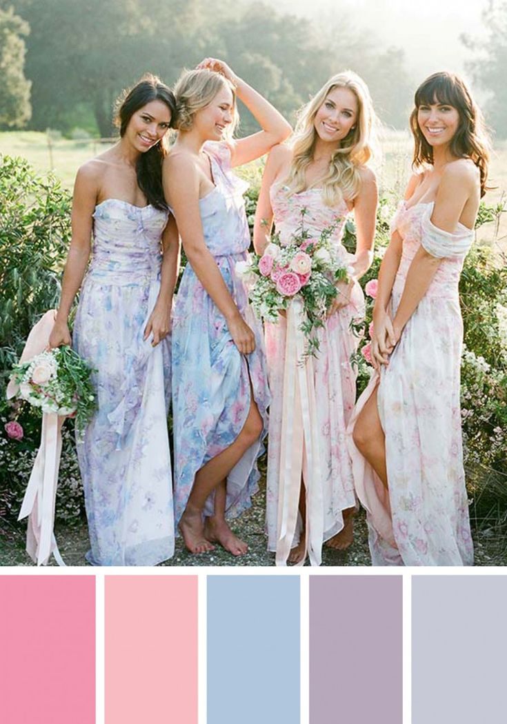 Pastel Wedding Style Guide