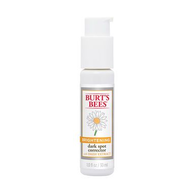 Burt's Bees Dark Spot Corrector- This is an amazing product. I saw immediate lightening of my dark spots and blemishes. $20