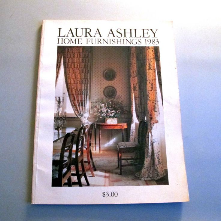 Laura Ashley Home Furnishings Catalog 1983 by overthetopoverstock, $15.00