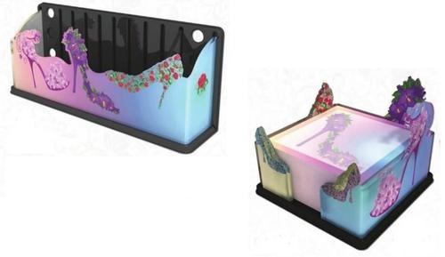 Stiletto High Heels Shoe Sticky Note Holder & Desk/Fridge Magnetic Organizer USA | eBay