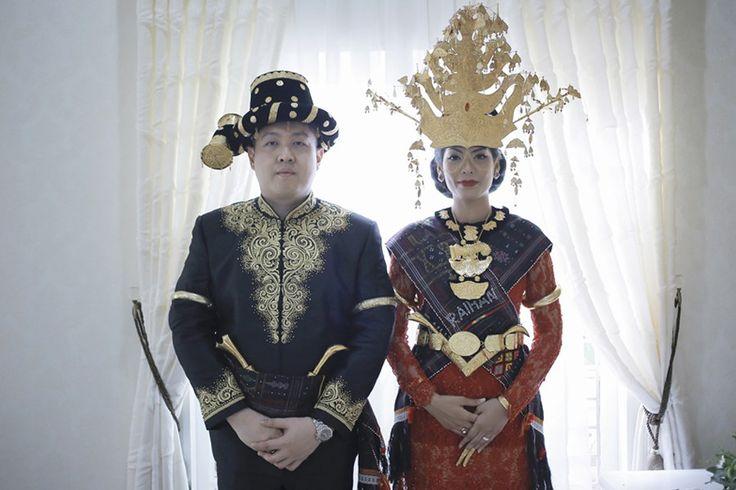 Pernikahan Adat Mandailing Amira dan Cheta di Medan