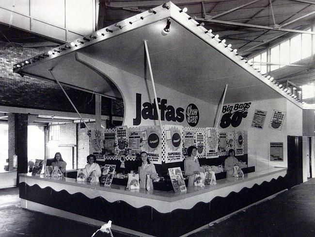 Jaffas Show Bags were free, late 1960's Royal Easter Show Sydney.