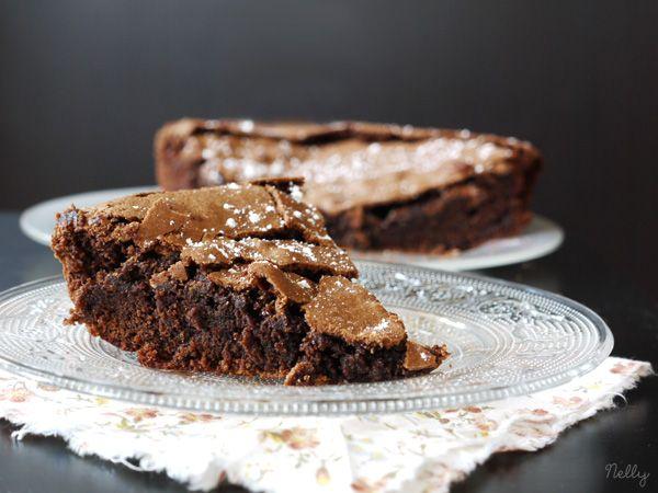 Gâteau au chocolat et beurre salé | Cuisine téméraire