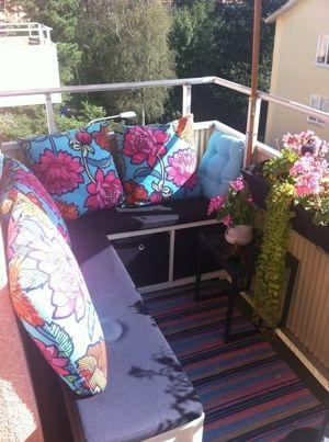Bildresultat för inreda liten balkong tips