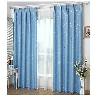 Window Treatment Prikker Stue Materiale Blackout Gardiner Hjem Dekor For Vindu 5972542 2017 – kr.260