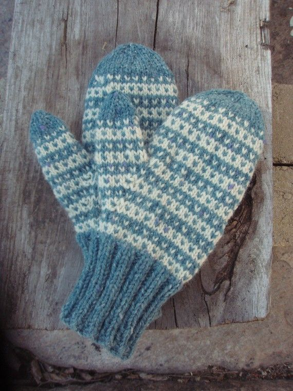 New England Wool Mittens