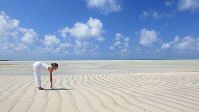 Na Vamizi je velmi snadné být na pláži sama. Jen vy, pláž a moře.