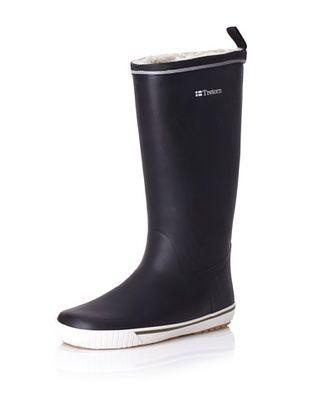 Tretorn Women's Skerry Reslig Vinter Rain Boot (Black)