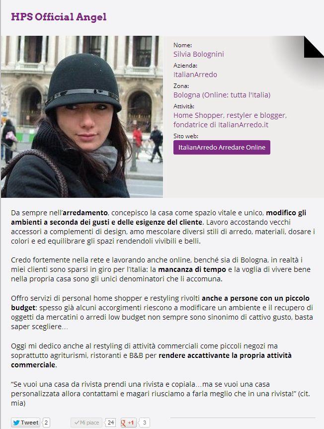 #Silvia_Bolognini, #Home_Blogger e #Home_Personal_Shopper...chiedile un consiglio per migliorare la tua #casa!  Ask her an opinion to renew your #home