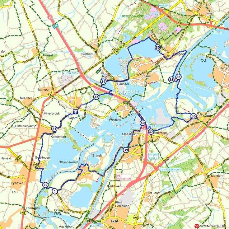 Fietsroute: Maasstadjesroute  (http://www.route.nl/fietsroutes/141179/Maasstadjesroute/)
