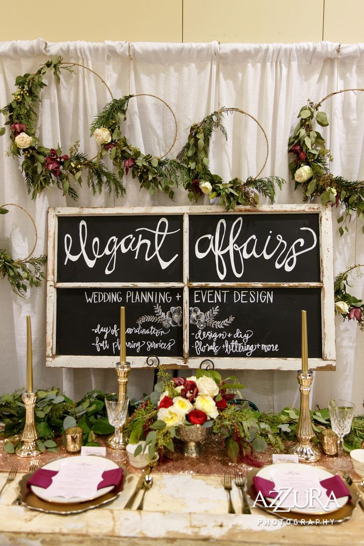 wedding reception photo booth singapore%0A Wedding Show Booth that gives off an elegant vibe  Gold and burgundy give a  rich