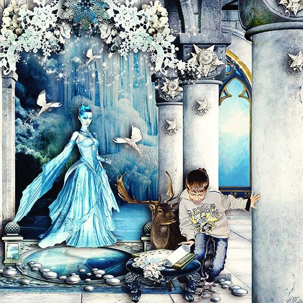 """""""The Snow Queen"""" by Pink Lotty Designs"""