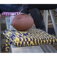 Go Team Stadium Cushion Free Crochet Pattern : Maggie's Crochet Blog