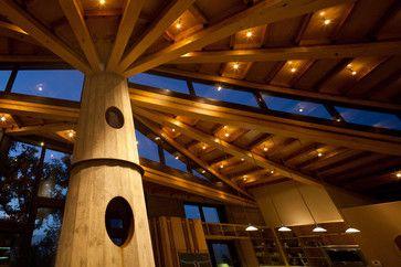 Coastal Rammed Earth - eclectic - spaces - san luis obispo - Semmes & Co. Builders, Inc