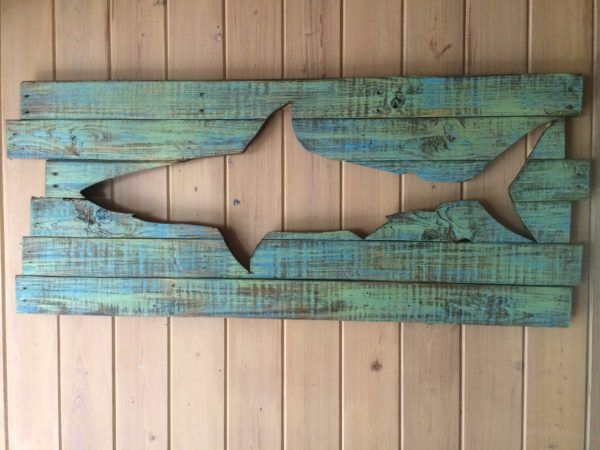 Beautiful Backlit Pallet Wall Art! Pallet Wall Decor & Pallet Painting