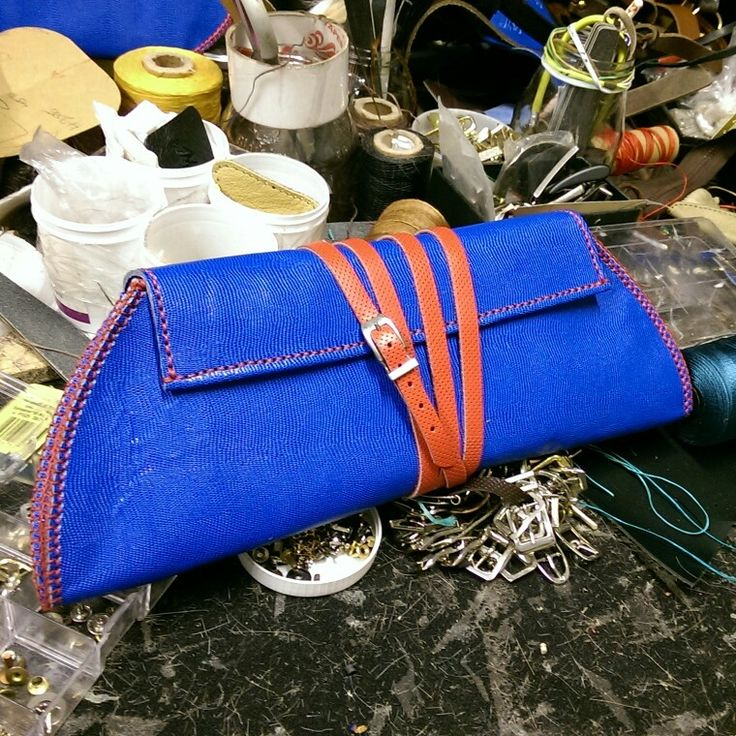ROW hand made  Clutch