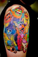 The World of Strange: Muppet Tattoos and Contemplation...