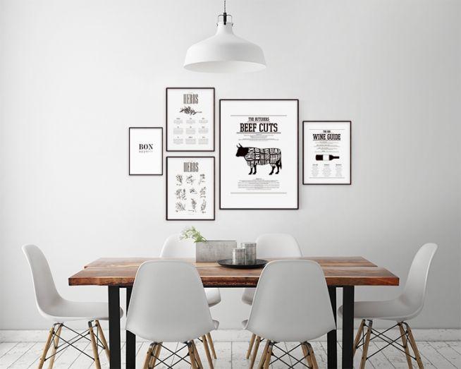 Posters till köket