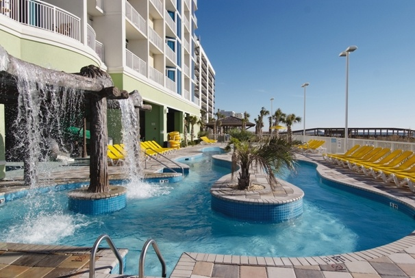 poolside at wyndham vacation resorts towers on the grove. Black Bedroom Furniture Sets. Home Design Ideas
